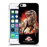 Head Case Designs Officiel Jurassic World T-Rex VS. Velociraptors Art Clé Coque Dure pour l'arrière Compatible avec iPhone 5...