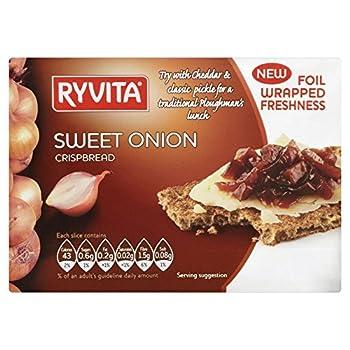 Ryvita oignon doux Crispbread (200g) - Paquet de 2