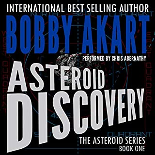 Asteroid: Discovery audiobook cover art