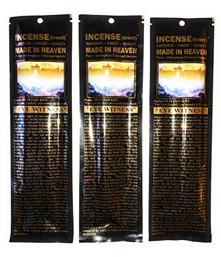 Mohan Incense(Tract) Sticks, Made in Heaven Pack of 250 Sticks (9.2 Inches Tall) - Makers of The World Famous Khush (Kush) Scent - Premium Pure Charcoal Incense Hand Rolled