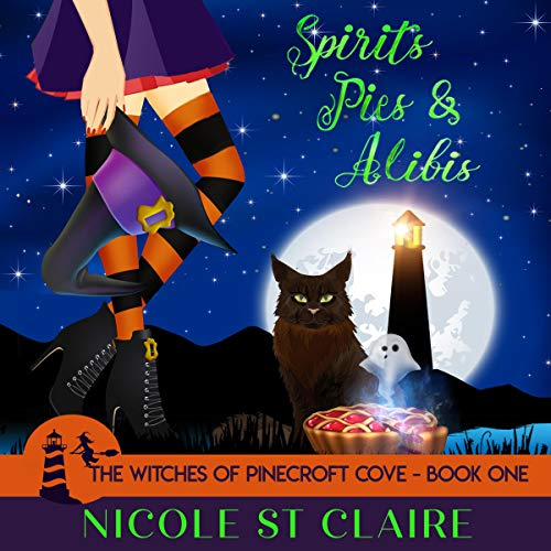 Spirits, Pies & Alibis audiobook cover art