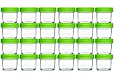Product Image of the Nellam Baby Food Storage Containers - Leakproof, Airtight, Glass Jars for...