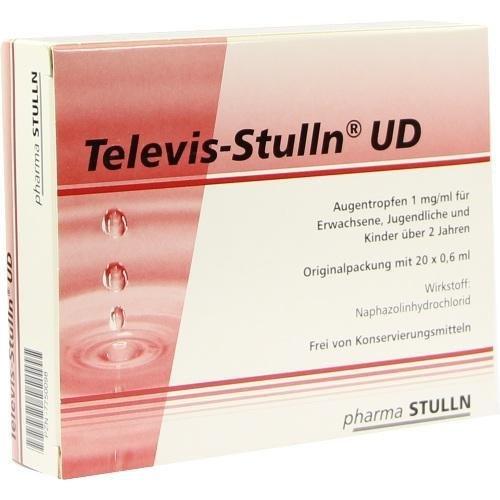 TELEVIS STULLN UD 20X0.6ml Augentropfen PZN:7750098