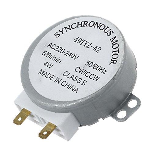 TANOU AC 220-240V 50 / 60Hz 5 / 6RPM 4W Motor sincrono de la Plataforma giratoria para el Horno de microonda