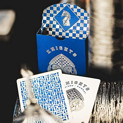 SOLOMAGIA Blue Knights Playing Cards
