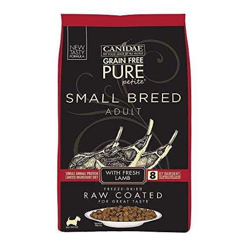 Canidae Pure Petite Raw Coated Lamb Dog Food 4Lb