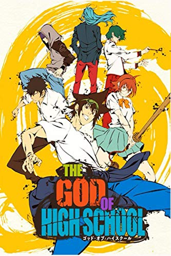 the god of high school: journal notebook Diaries & Journals webtoon manhwa manga anime 6x9 120 pages