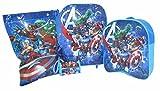 Marvel Avengers 4 piezas de equipaje para ni?os
