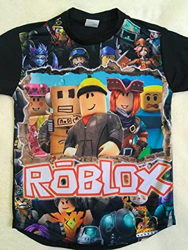 Camisa camiseta infantil Roblox (P 2 a 4 anos)