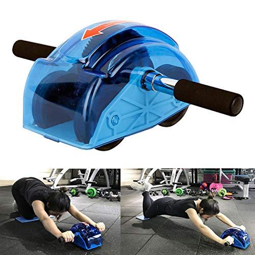 POHOVE Bauchmuskel-Roller mit vier Rädern, verschleißfestes Bauch-Roller für Bauchmuskelübungen, Trainingsgerät für Bauchmuskelübungen