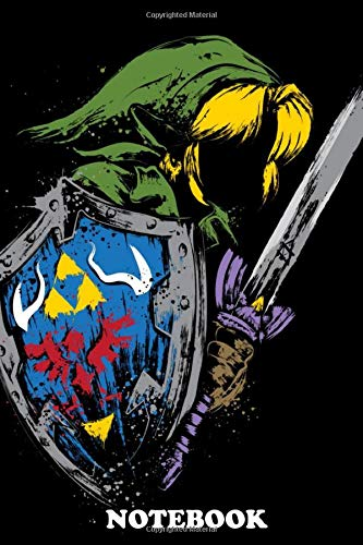 Notebook: Hyrule Warrior , Journal for Writing, College Ruled Size 6' x 9', 110 Pages