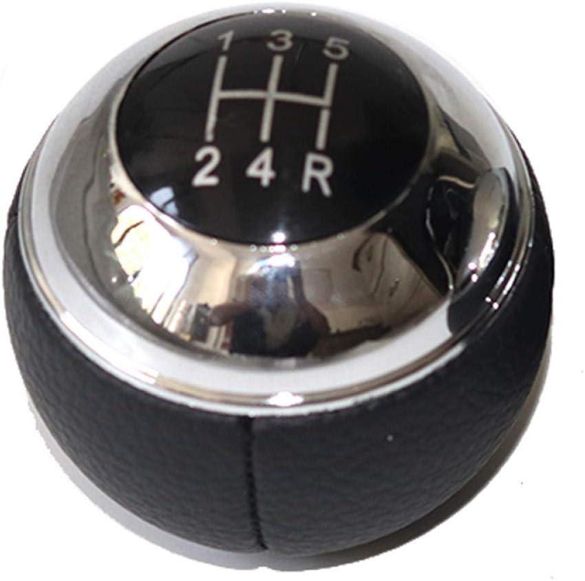 5 Finally popular brand San Francisco Mall 6 Speed Car Gear Shift Konb R Knob Shifter Mini for Fit Gaiter