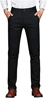 👍ONLY TOP👍 Men's Spring Autumn Fashion Business Casual Long Pants Suit Pants Male Elastic Straight Formal Trousers