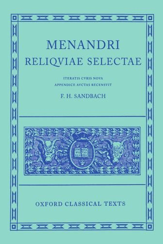 Reliquiae Selectae (Oxford Classical Texts)