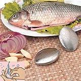 WZhen Entfernen Sie Den Geruch Von Knoblauchgeruch Die Edelstahlseife - Silber