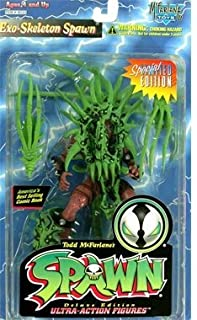 Spawn Series 4 > Exo-Skeleton Spawn (Green and Red) Action Figure