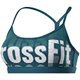 Reebok CF Skinny Strap Bra-Crossfit Repeat Sujetador Deportivo, Mujer, Heritage Teal, 2XS
