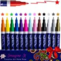 Set of 14 Imagine It Art Acrylic Paint Pens
