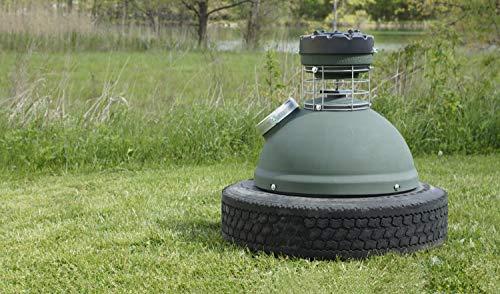 Capsule Feeders CAP-250 250 LB Hunting Game Feeder, Green