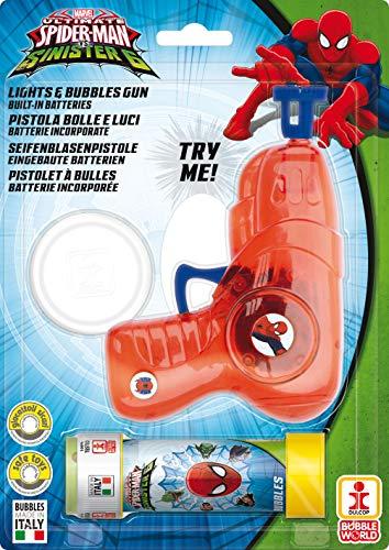 Dulcop - 005086 - Pistola burbujas luz tubo Soap -
