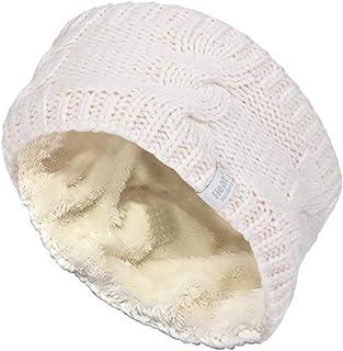 Heat Holders - Womens Warm Fleece Lined Knit Thermal Winter Ear Warmer Headband