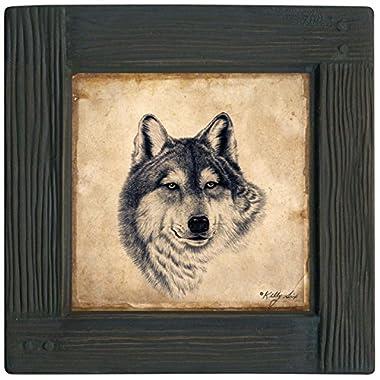 Thirstystone Ambiance Coaster Set, Wolf, Multicolored