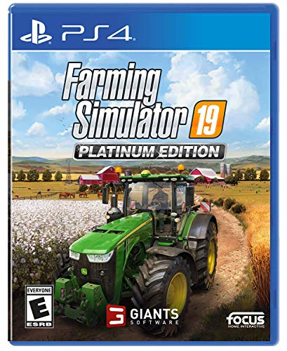 Farming Simulator 19: Platinum Edition - PlayStation 4