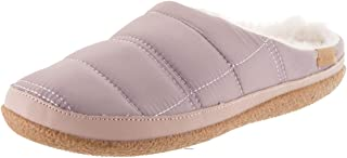 Toms Womens Ivy Faux Fur Closed Toe Slip On Slippers