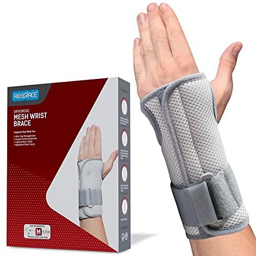 REBRACE Dual Arm Universal Wrist Brace for Men & Women – Interchangeable...