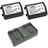 Wasabi Power Battery (2-Pack) and Dual Charger for Nikon EN-EL18
