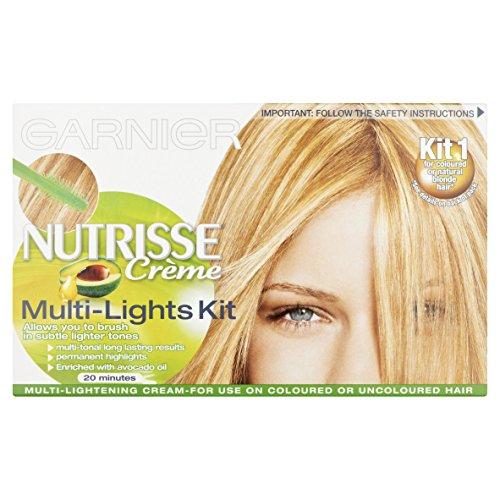 Garnier Nutrisse Hair Highlights Kit Multi-Lights Permanent