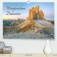 Wunderschoene Dolomiten (Premium, hochwertiger DIN A2 Wandkalender 2022, Kunstdruck in Hochglanz): Lassen Sie sich verzaubern von der einzigartigen Bergwelt der Dolomiten. (Monatskalender, 14 Seiten )