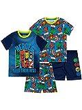 Marvel Pijamas de Manga Corta para niños 2 Paquetes Multicolor 9-10 Años