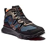 Timberland Garrison Trail Waterproof Mid Fabric Hiker Dark Blue/Black 11 D (M)