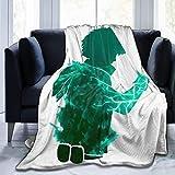 N \ A Mantas de franela ultrasuaves Izuku-Deku My-Hero-MHA-Academia para sofá, cama, sofá – Pequeña 50 x 40 pulgadas