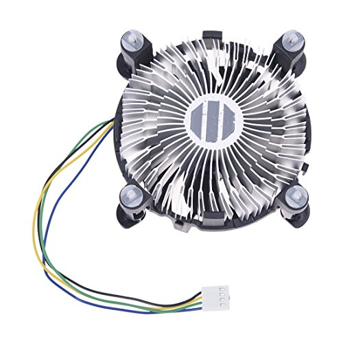SODIAL(R) Ventilador Refrigerador Fan Cooler para pc Intel LGA775