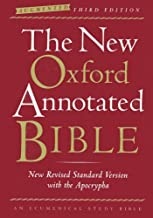 The New Oxford Annotated Bible with the Apocrypha, Augmented Third Edition, New Revised Standard Version, Indexed