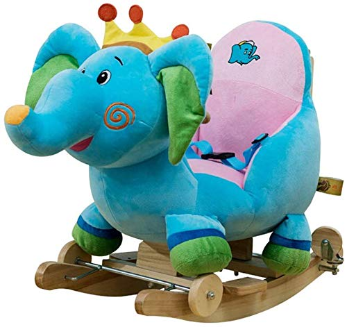 DSWSSH DSWYY Children's Rocking Chair Child Rocking Horse Early Childhood Educational Rocking Horse with Songs for Boys Or Girls Baby Toy Gift 0YY01
