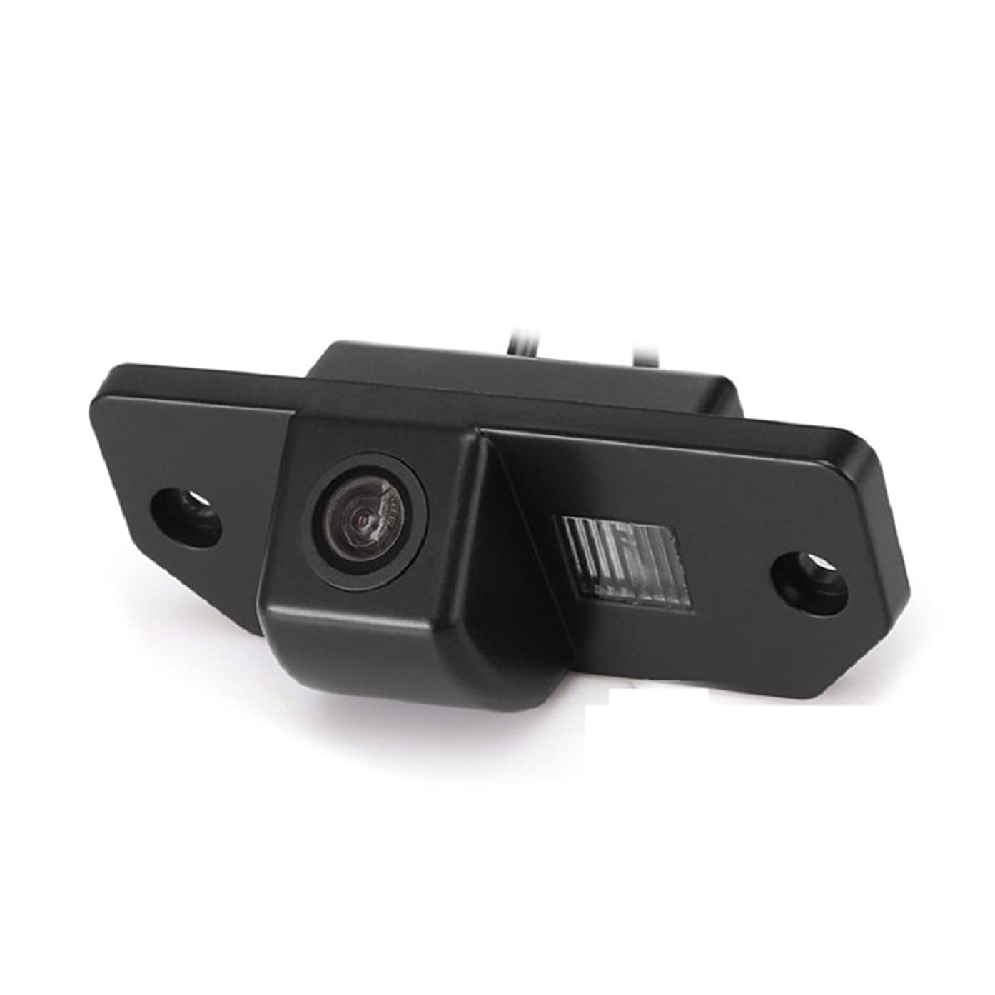Reversing Vehicle-Specific Camera Integrated in Number Plate Light License Rear View Backup camera for Focus 3 (3C) sedan Mondeo (2000-2007) C-Max (2007-2009)