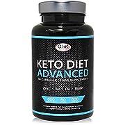 Keto Diet Pills - 1 Month Supply UK Manufactured - High MCT Oil, Biotin & Green Tea Content - Ketogenic Weight Loss Supplement Slimming Pills