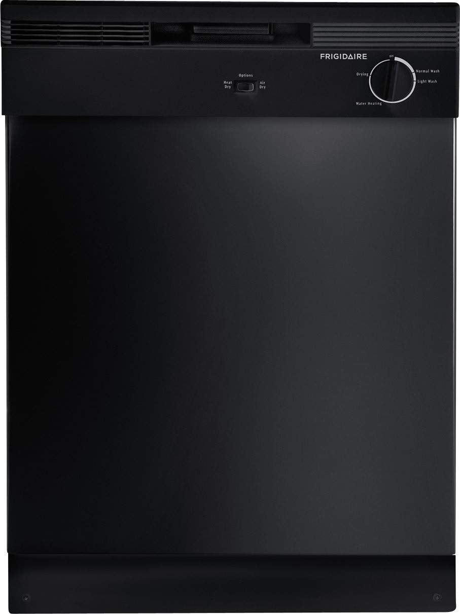 Amazon Com Frigidaire Fbd2400kb Black 24 Built In Dishwasher Appliances