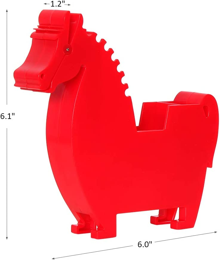Suitable for Office Home Animal Note Clip with 200 Sheets White Memo Memo Holder for Desk,Multi-Functional Plastic Memo Holder Note