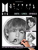 BTS - Dots Lines Spirals Coloring Book - New kind of stress relief coloring book for adults