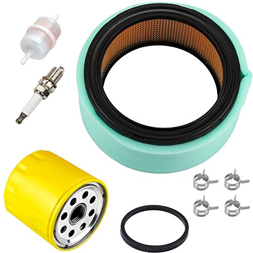 Harbot 24 083 03-S Air Filter + 52 050 02-S Oil Filter Tune Up Kit for Kohler CH18 CH20 CH22 CH25 CH23 CH730 CH740 CH640 CH680 ECH749 ECH730 CV730 CV23 CV25 18HP-25HP OHV Engine Lawn Mower
