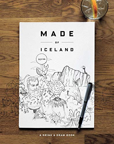 Made of Iceland: A Drink & Draw Book