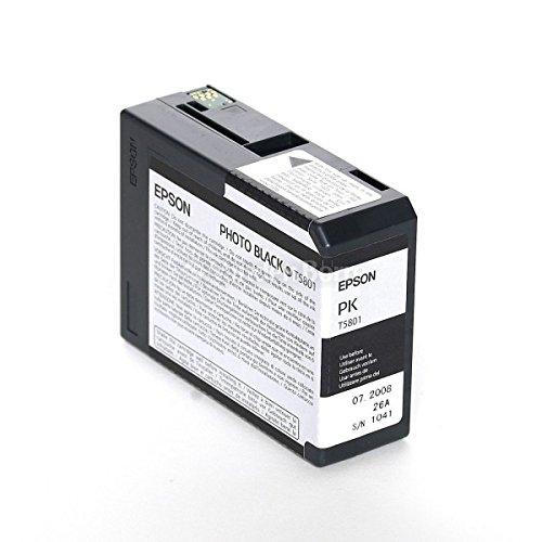 Cartucho T5801PK Photo Black Compatible con Epson Stylus Pro 3800, 3880, T580100, T5801, 80 ml