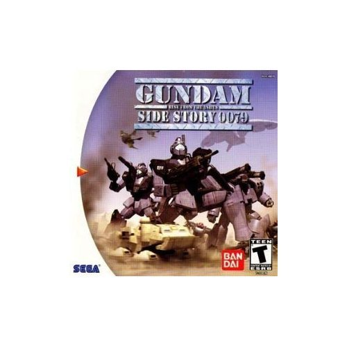 Free Shipping New Gundam Side Story 0079: Rise from Bombing new work - the Ashes Dreamcast Sega