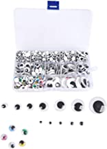 Occhi Di Sicurezza Di Plastica Di Colore 114pezzi Mix