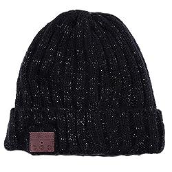 Zibuyu Music Speaker Hat,Heavy Bass Wireless Bluetooth Music Speaker Headset Headphone Hat Cap