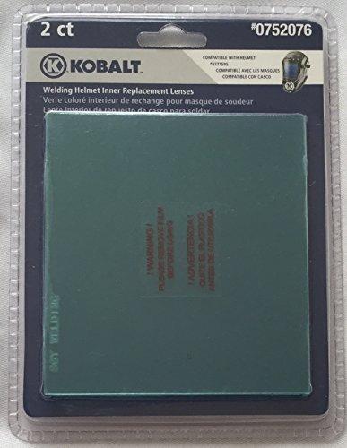 """Kobalt Welding Helmet Inner Replacement Lens, 0752076, Compatible With Helmet #0771595, 4.09"""" X 3.78"""""""